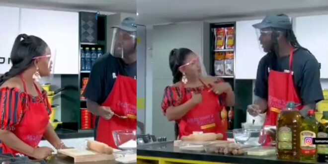 Fans amazed as Nana Ama Mcbrown speaks Italian fluently with Pappy Kojo (video) 1