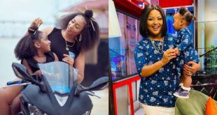 Nana Ama Mcbrown and Hajia4real show in new pictures why having a daughter is a blessing above all. 68
