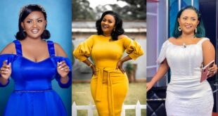 """You have to love yourself first""- Nana Ama Mcbrown Advises 8"