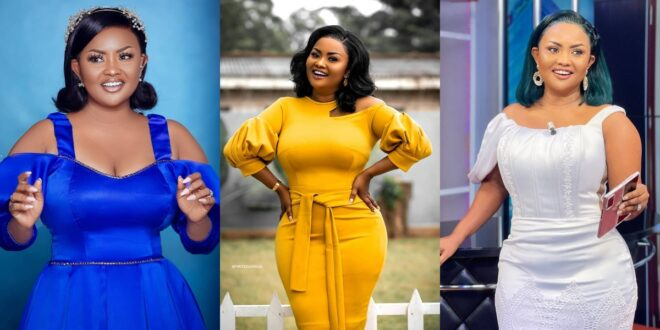 """""""You have to love yourself first""""- Nana Ama Mcbrown Advises 1"""