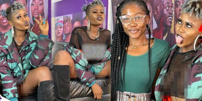 """""""Posting Nak3d pictures on social media does not mean i am a prostitute""""- Naomi Gold (video) 1"""