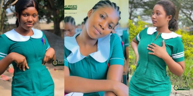 24 pictures of pretty Ghanaian Nurses that will make you want to marry a nurse. 1