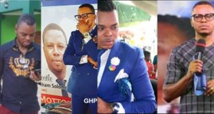 Sad news! Bishop Obinim couldn't heal his sick father, he jut d!ed. 17