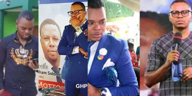 Sad news! Bishop Obinim couldn't heal his sick father, he jut d!ed. 1
