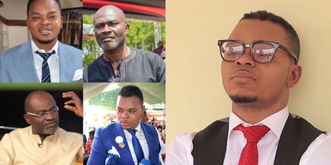 """""""You are a f0()l if you go to obinim to heal you when he couldn't heal his own father""""- Kennedy Agyapong 1"""