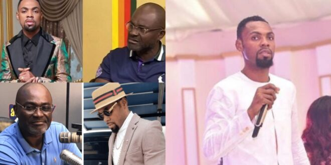 """Obofour you have to be careful else i will expose you""- Kennedy Agyapong warns Obofour (video) 1"