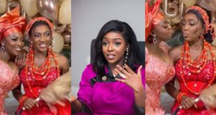 """I thought Older sisters were supposed to marry first""- Netizen reacts to Yvonne Okoro's younger sister getting married. 9"