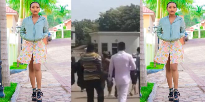 Video of Akuapem Poloo leaving Nsawam Prison after meeting bail requirement surfaces. 1
