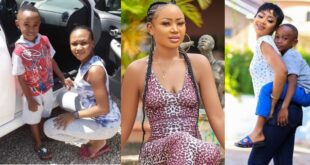 """Please forgive my mother""- Akuapem Poloo's son spotted in a video pleading for his mother 7"