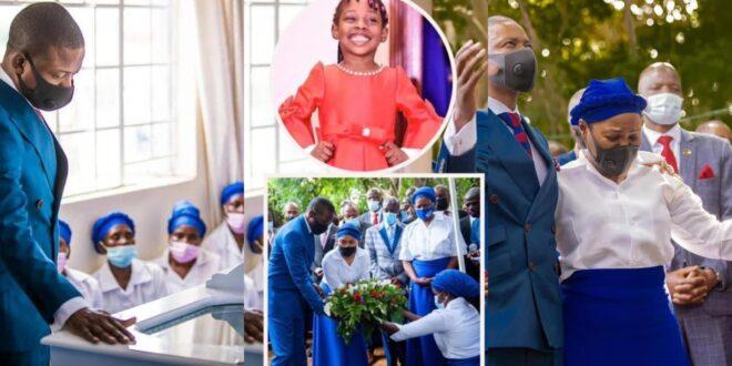 Heartbreaking Photos from Prophet Bushiri daughter's funeral service. 1