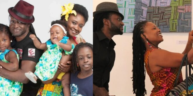 Pictures of Reggie Rockstone's beautiful wife and kids surfaces online 1