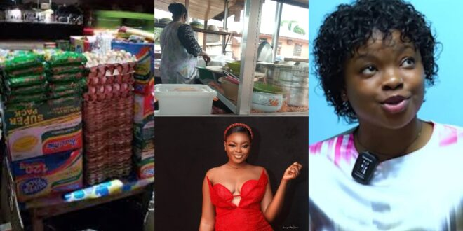 """""""My mother sells Indomie and Banku, so what??""""- Rose blast critics who exposed her (video) 1"""