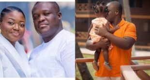 MP Sam George shares beautiful image of his daughter as she celebrates her first birthday 10