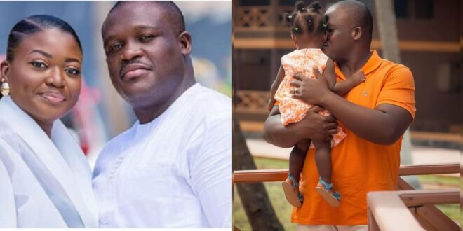 MP Sam George shares beautiful image of his daughter as she celebrates her first birthday 1