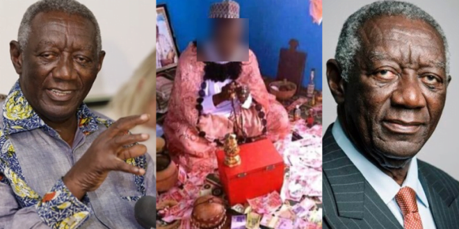 """""""Eliminate fake mallams and juju men from the media as soon as possible""""- Ex-president Kufour asks stakeholders. (video) 1"""