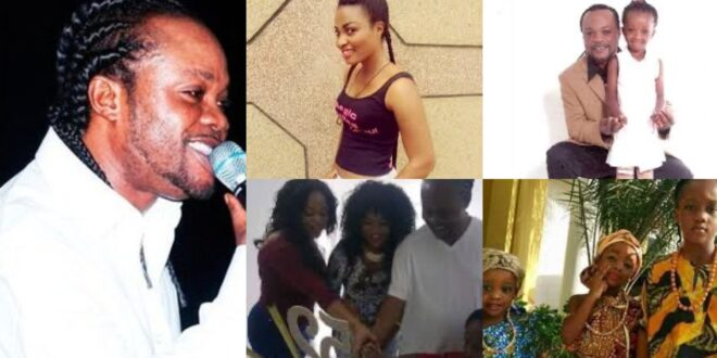 see Pictures of Daddy Lumba, his wife, and seven kids. 1