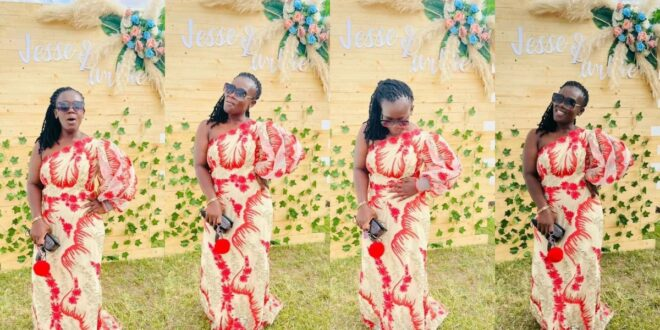 Wedding Guest Tima Kumkum looks beautiful in new photos she shared online. 1