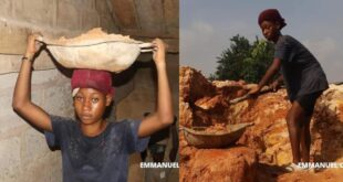 Beautiful 20 years old University student does construction work to support herself 78