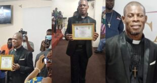 Actor waakye ordained as Rev. Minister. 15