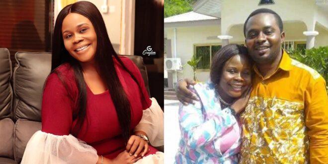 UTV's Yaa Konamah and her deceased husband photo surfaces online. 1