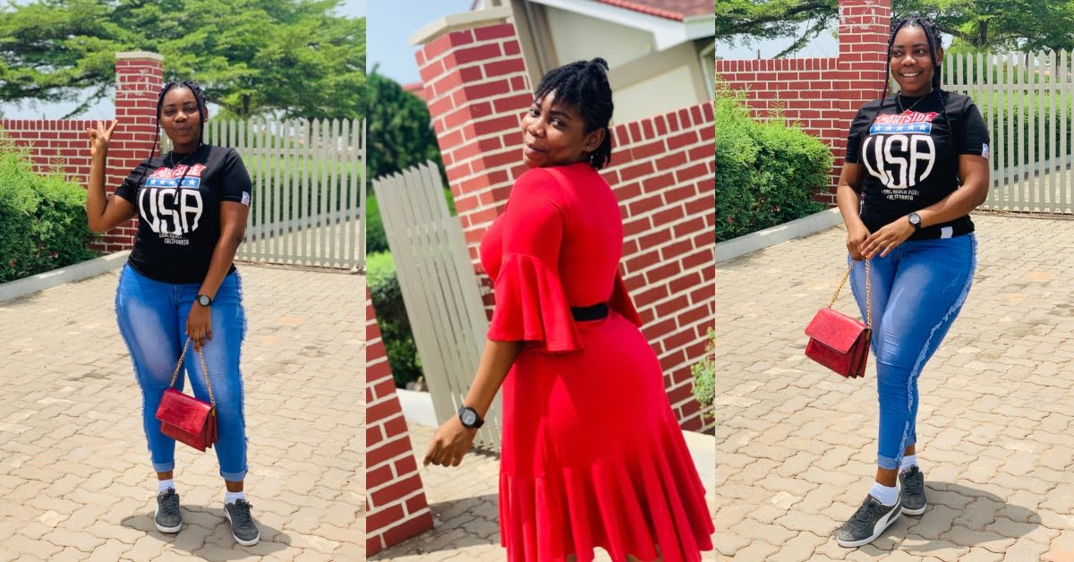 """""""If I don't get rich by August, I'll start acting for p0rn"""" – Beautiful Ghanaian lady 45"""