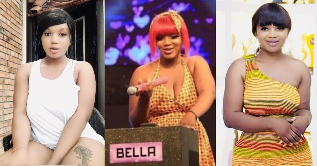 Video: I was st@bbed twice in the chest by a Cameroonian - Bella of Date Rush reveals 1
