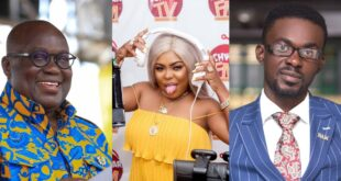 """I will slap Nana Akuffo Addo if he pays greedy menzgold customers with out tax money""- Afia Schwarzenegger 11"