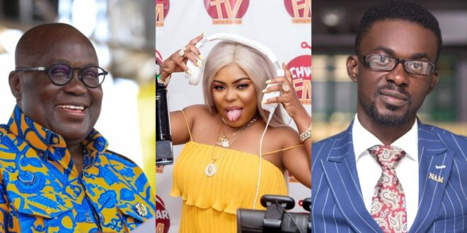 """""""I will slap Nana Akuffo Addo if he pays greedy menzgold customers with out tax money""""- Afia Schwarzenegger 1"""