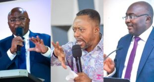 """""""Bawmia should not be president because he is a Muslim and has an unpure heart""""- Owusu Bempah 45"""