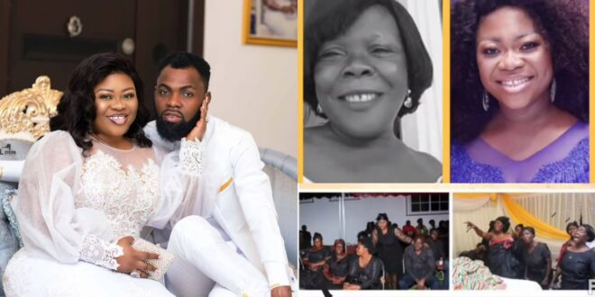Obofowaa shares an emotional video of her late mother to remember her on mother's day (video) 1