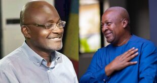 I am sorry for saying some negative things about Mahama, but he is a good guy – Kennedy Agyapong. 13