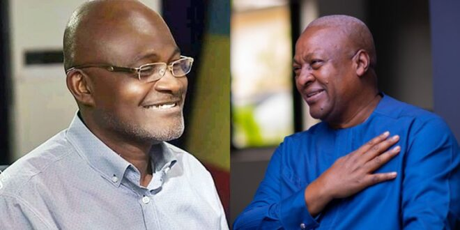 I am sorry for saying some negative things about Mahama, but he is a good guy – Kennedy Agyapong. 1