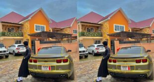 Kuami Eugene flaunts His customize car and Huge Mansion in a new photo. 43