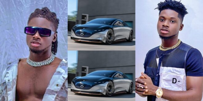 """""""A lady offered me a Benz to date her but I declined""""- Kuami Eugene 1"""