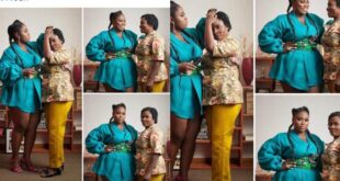 Lydia Forson curses netizen for insulting her mother (screenshots) 14