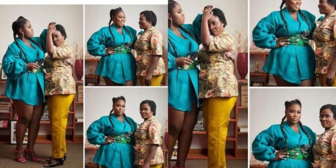 Lydia Forson curses netizen for insulting her mother (screenshots) 1