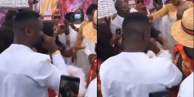 Sarkodie's sister marries here is a video from the lavish wedding 1