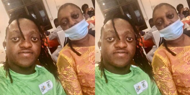 Sumsum Ahoufe shows the face of his mother for the first time (photo) 1