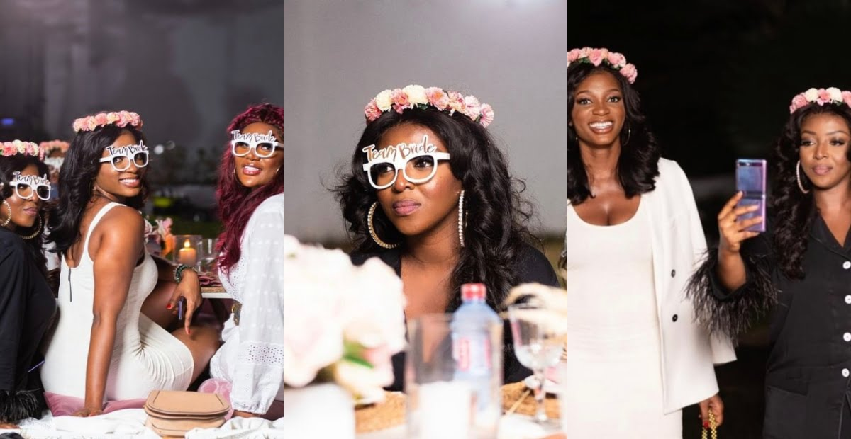 Alleged secret Bridal shower of Yvonne Okoro's wedding surfaces online 6