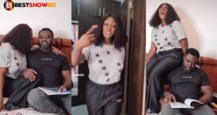 Mercy Johnson can worry: See what she was seen doing to her husband (Video) 19