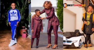 Akuapem Poloo celebrates her son's birthday with stunning pictures 13