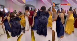 Bridesmaids with huge backsides cause confusion at a wedding (video) 12