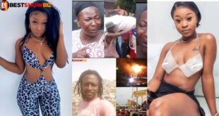 """""""People are blaming me for the death of kaaka and the two others at Ejura""""- Efia Odo 9"""